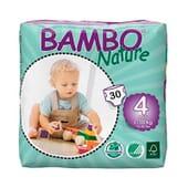 Fraldas 4 Maxi 7-18 Kg  30 Uds da Bambo