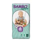 Fraldas 4 Maxi 7-18 Kg  60 Uds da Bambo