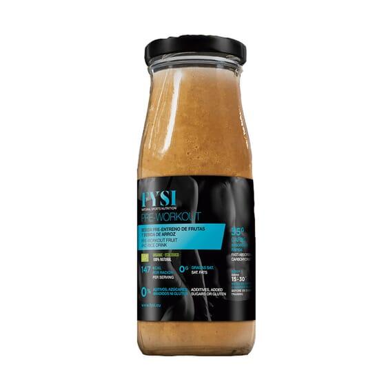 Bebida Pre-Entreno De Frutas Y Bebida De Arroz 250 ml de FYSI NATURAL SPORT NUTRITION