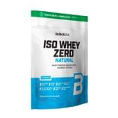Iso Whey Zero Lactose Free Natural 1816g de Biotech USA