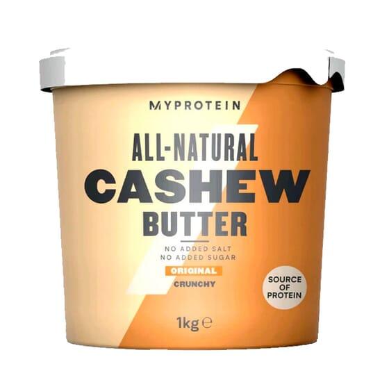 Natural Cashew Butter Crunchy 1000g da Myprotein