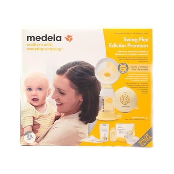 Sacaleches Swing Flex Edición Premium 1 Ud de Medela