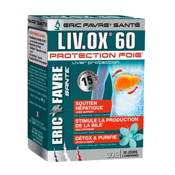 Liv.Ox 60 Protection Foie 60 Tabs