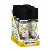 Diet Cook Spray Coco Vegan 6 Uds de 200 ml de Eric Favre Sport