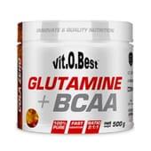 Glutamine + Bcaa 500 g de Vitobest