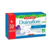 Drainaflore Detox Bio +50 % Gratuit 15 ml 30 Fioles de Super Diet