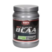 100% Black Bol Bcaa Powder 450g de Best Body Nutrition