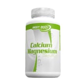 Calcium Magnesium 100 Caps de Best Body Nutrition