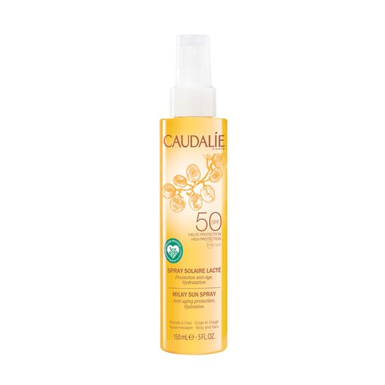 Spray Solar Lácteo SPF50 150 ml da Caudalie