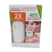Exomega Control Crème Émolliente Duo 2 x 400 ml de A-Derma