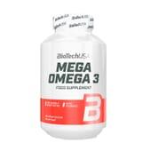 Mega Omega 3 180 Caps de Biotech Usa