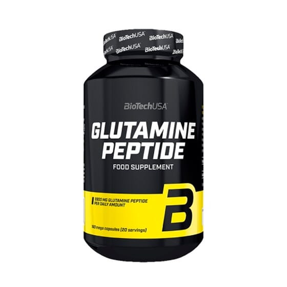 Glutamine Peptide 180 Caps de Biotech Usa