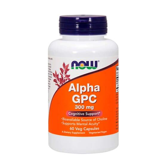 Alpha GPC 300 mg 60 VCaps de Now Foods