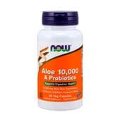Aloe 10.000 Probiotics 60 VCaps da Now Foods