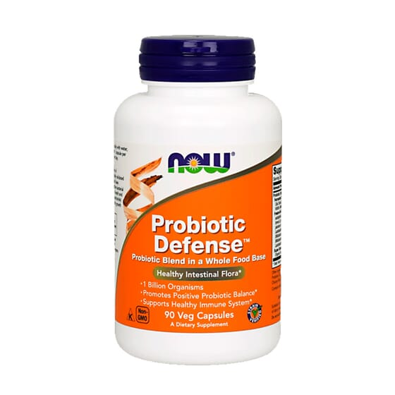 Probiotic Defense 90 VCaps de Now Foods