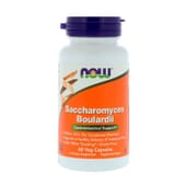 Saccharomyces Boulardii 60 VCaps de Now Foods