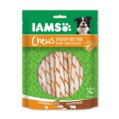 Chews Sticks Masticables Pollo Ternera 190g de Iams