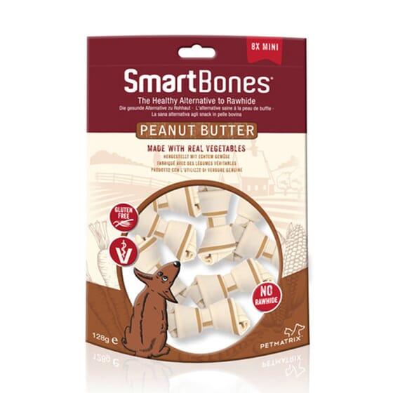 Snack Mini De Mantequilla De Cacahuete 8 Uds de Smartbones