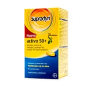 Supradyn Attivo +50 con Antiossidanti 90 Tabs di Supradyn