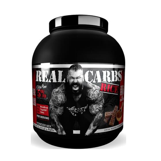 Real Carbs Rice 2221g de Rich Piana 5% Nutrition