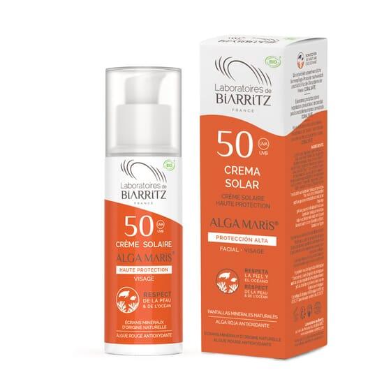 Creme Solar Facial SPF50 50 ml da Alga Maris
