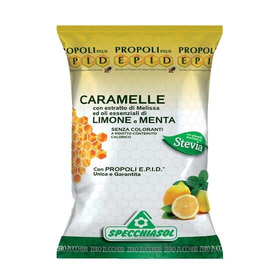 Caramelos Limón Y Menta Con Stevia 24 Uds de Specchiasol
