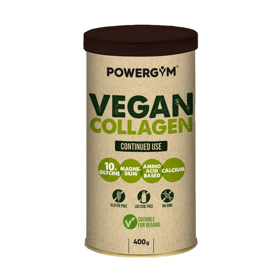 Vegan Collagen Sans Gluten 400g de Powergym