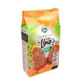 Grillé Pan 100% Integral Tostado Semillas de Lino Bio 240g de Santiveri