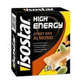 Energy Sport Bar 25g 6 Barras da Isostar