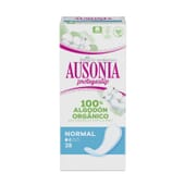 Ausonia Protegeslip 100% Orgánico Normal 28 Uds de Ausonia