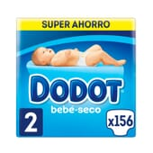 Dodot Bebé Seco T-2 Super Poupança 156 Unds da Dodot