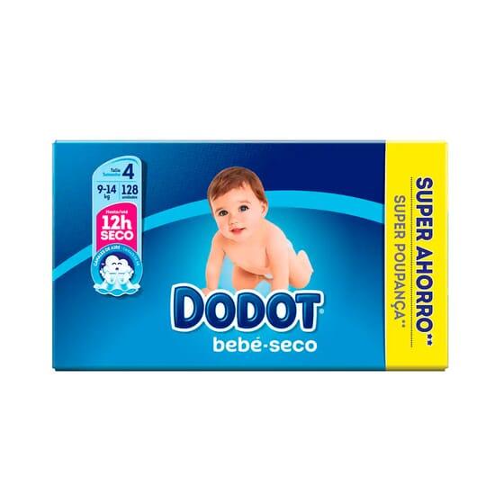 Dodot Bebé Seco T-4 Super Poupança 128 Unds da Dodot