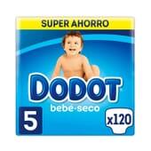 Dodot Bebé Seco T-5 Super Poupança 120 Unds da Dodot