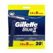 Gillette Blue II 20 Uds de Gillette