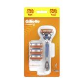 Gillette Fusion5 + 4 Lame di Ricambio  di Gillette