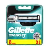 Gillette Mach3 XL 8 Unités de Gillette
