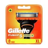 Gillette Fusion5 Power 8 Unds da Gillette