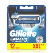 Gillette Mach3 Turbo 12 Unds da Gillette