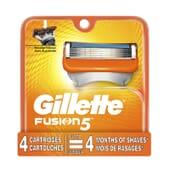 Gillette Fusion5 4 Uds de Gillette