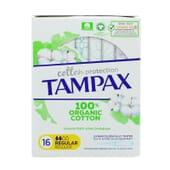 Tampax 100% Organic Cotton Regular 16 Uds de Tampax