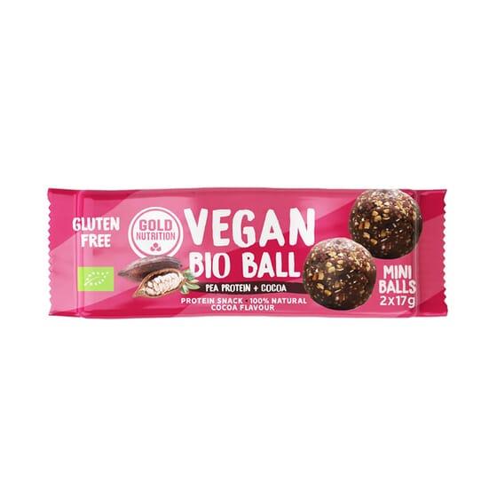 Vegan Bio Ball 34g de Gold Nutrition
