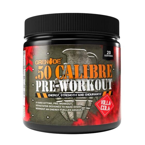 50 Calibre Pre Workout 232g de Grenade