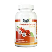 Health+ Guarana Extract 120 Caps de Zec+