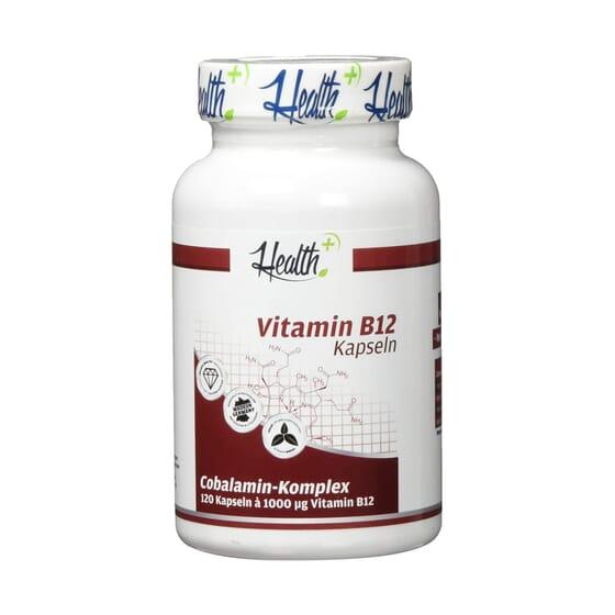 Health+ Vitamin B12 120 Caps de Zec+