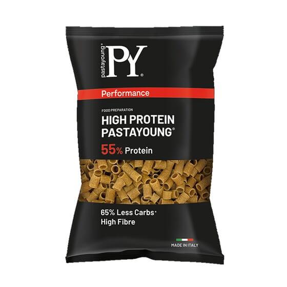 High Protein 55% Tubetti Rigate 250g da Pasta Young