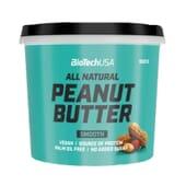 Peanut Butter Smooth 1000g di Biotech USA