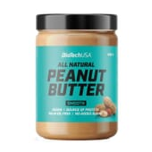 Peanut Butter Smooth 400g de Biotech USA