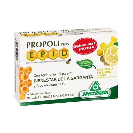 Propoli Plus EPID Bienestar De La Garganta 20 Tabs de Specchiasol