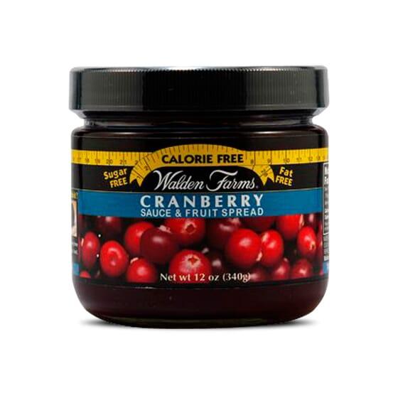 Cranberry Sauce & Fruit Spread 340g da Walden Farms