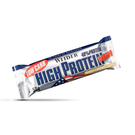 40% LOW CARB HIGH PROTEIN BAR 24 Barres de 50 g - WEIDER